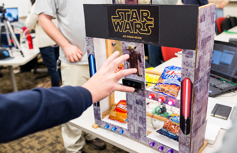 Jedi Vending Machine
