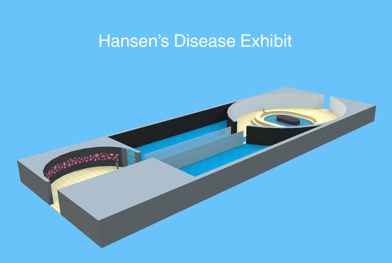 Hansen's Disease Museum Exhibit